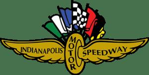 Multicolored Indianapolis Motor Speedway logo