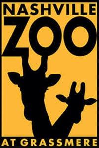 Nashville Zoo yellow and black logo