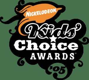Nickelodeon kids choice awards in black and orange