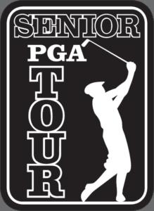 Senior PGA Tour logo black