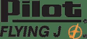 Flying J Logo black and gold