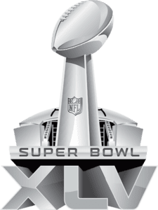 Superbowl XLV silver logo