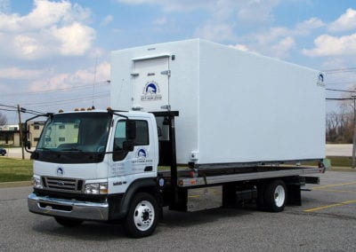 Polar leasing freezer trailer rental unit