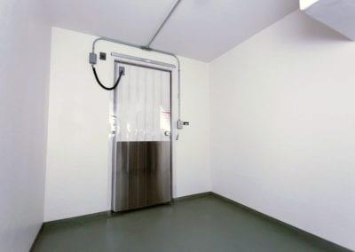 Door of Polar Leasing portable freezer unit