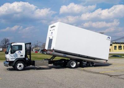 Emergency Refrigeration walk-in freezer cooler trailer Polar King