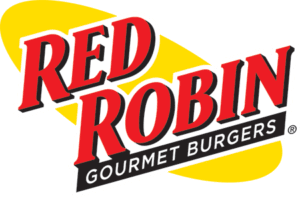 Red Robin logo yellow, black, red